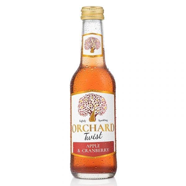 Orchard Twist Apple & Cranberry 250ml