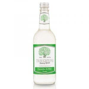 Troughtons Raising Spirits Cucumber and Mint Tonic 500ml