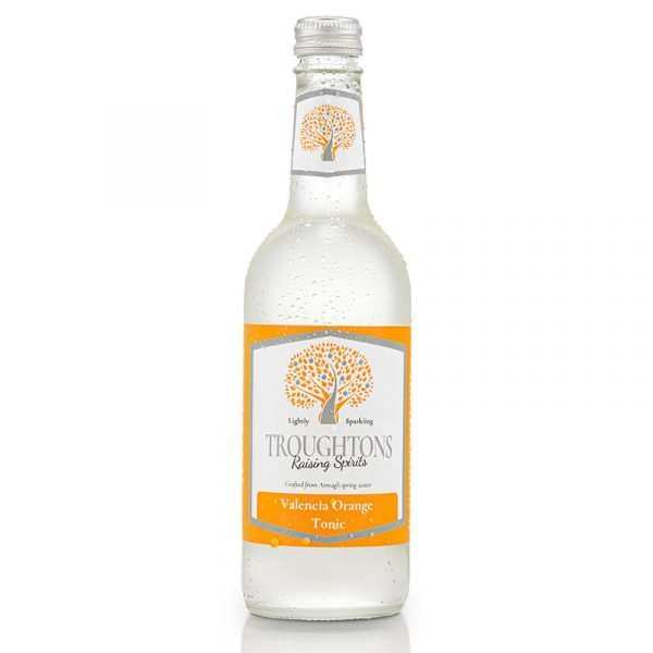 Troughtons Raising Spirits Valencia Orange Tonic 500ml
